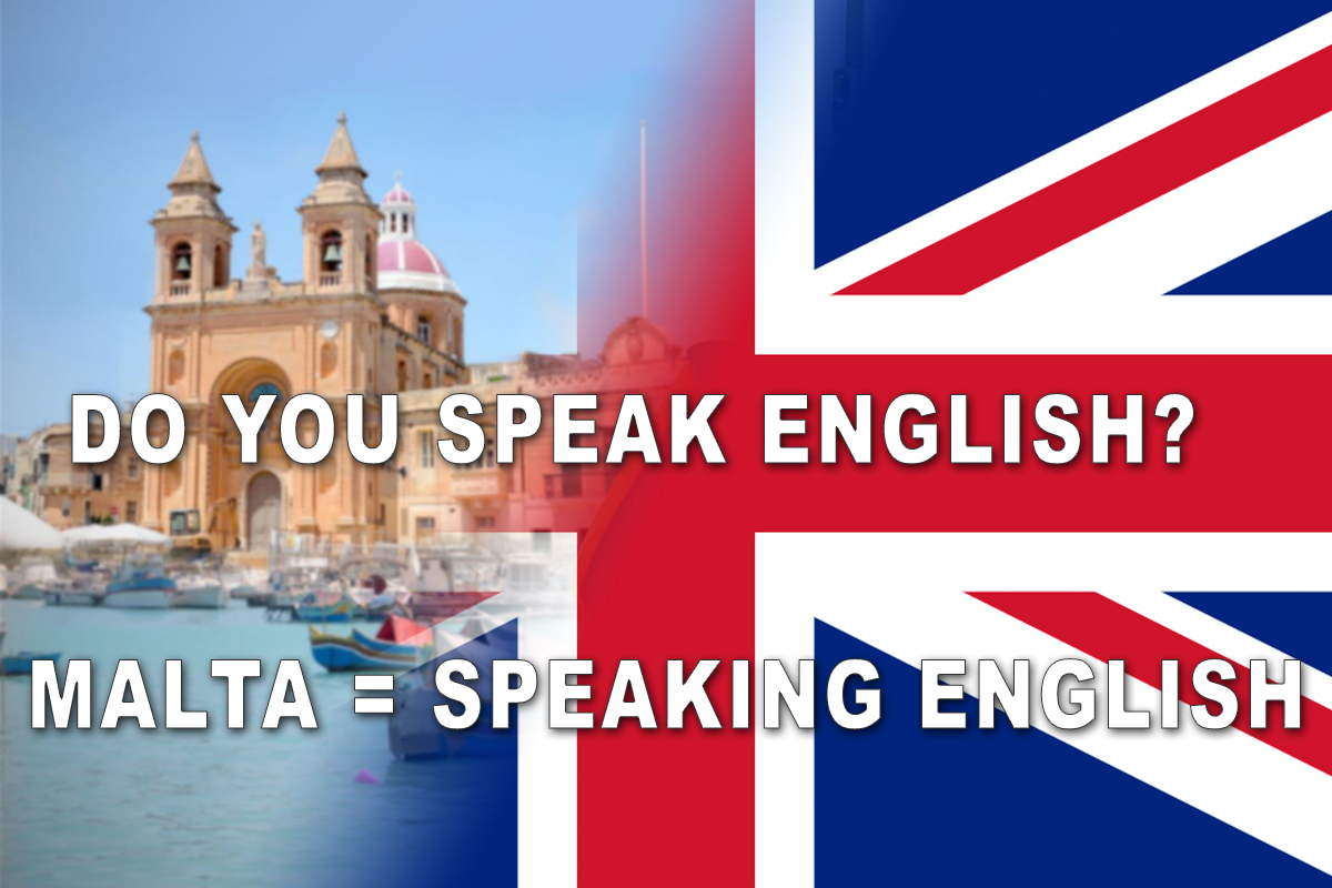 malta = speaking - english