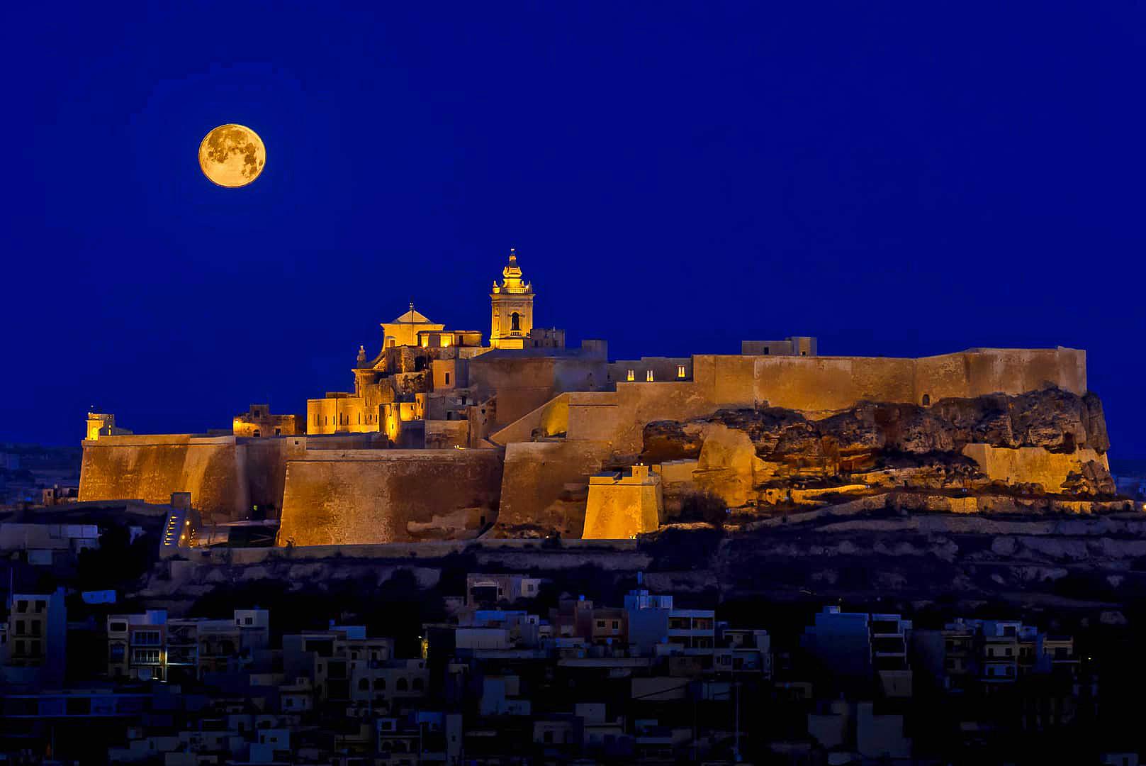gozo night - malta