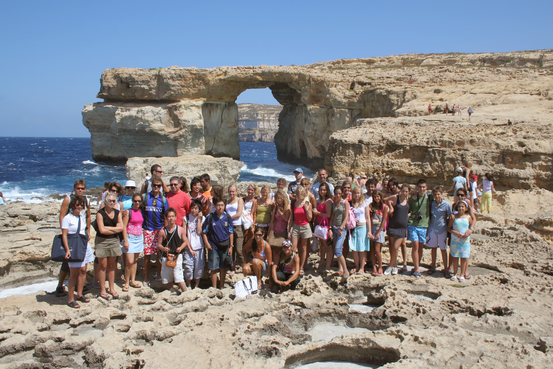 Языковой лагерь на Мальте