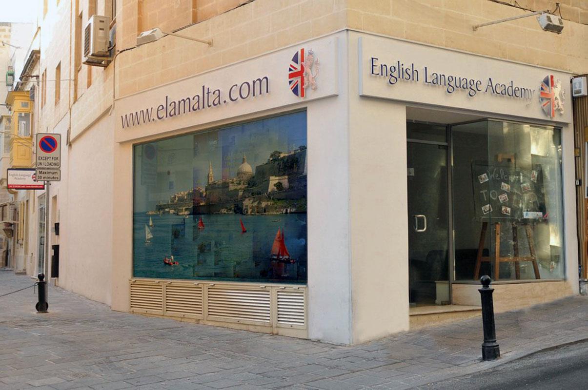 Изучение английского на Мальте. ELA