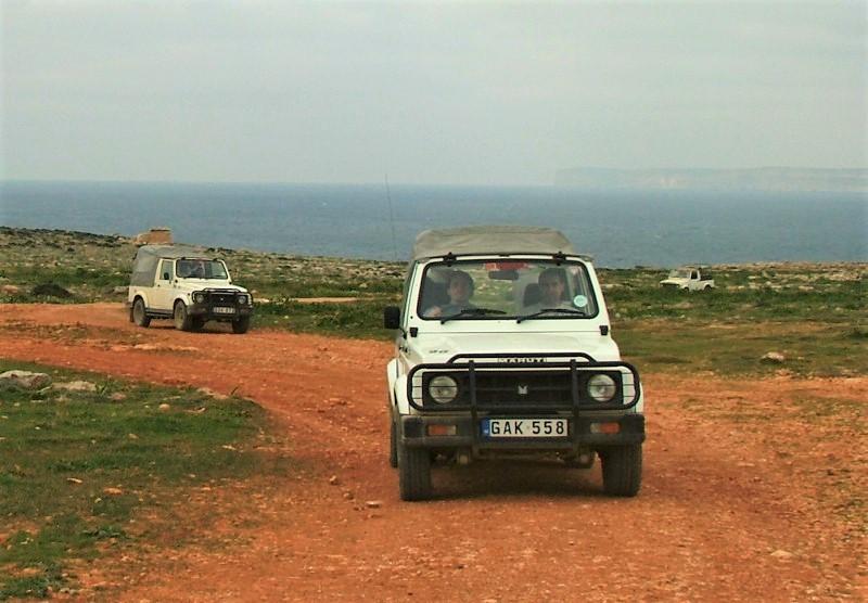 Джип сафари Мальта