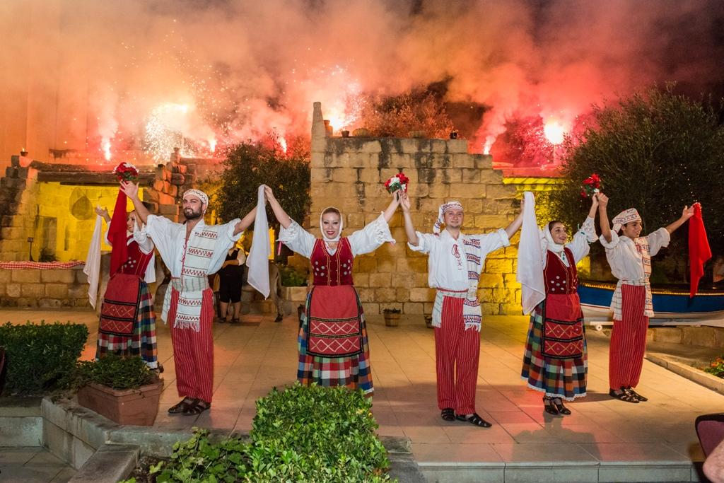 Фольклорное шоу на Мальте