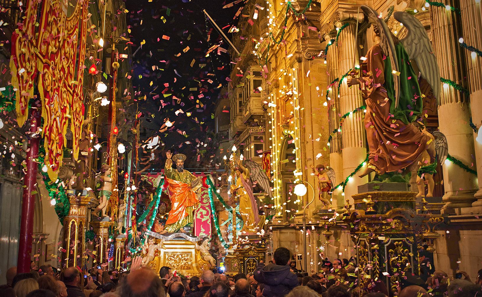 guided tour - St. Paul's feast - Malta