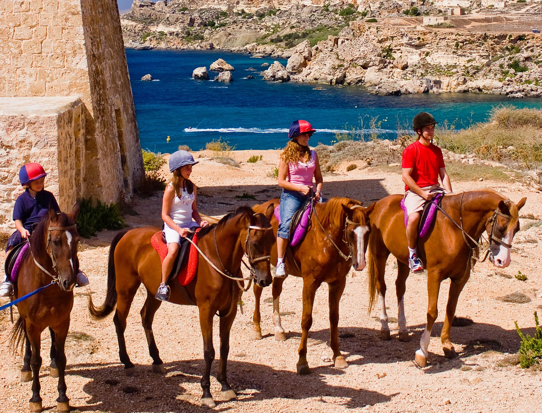 Horse riding in Malta